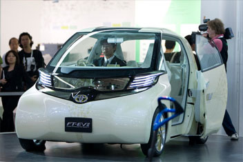 Toyota FT-EV II electric car