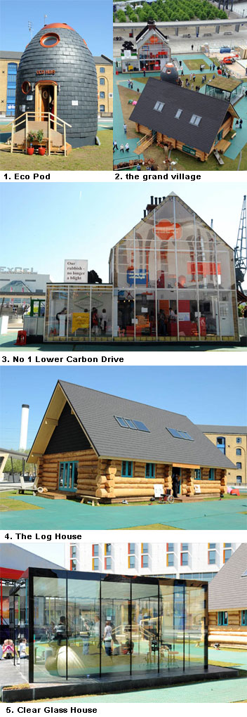 Eco Friendly Homes show