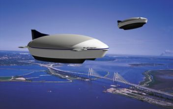 Green eco friendly Airships