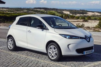 Renault Zoe Electric Car